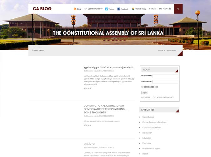 Constitutional Assembly Blog