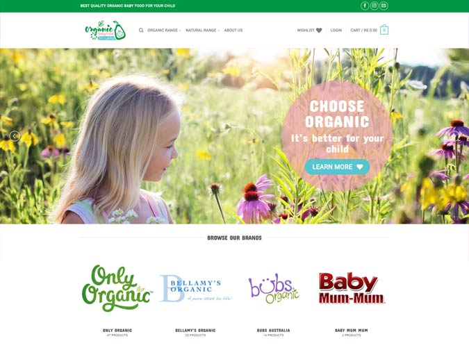 Organic Baby Food (Pvt) Ltd
